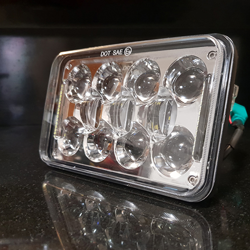 Audi Pure Protection >> LED Headlights for Trucks | 4x6 Inch 60 Watt with DRL.