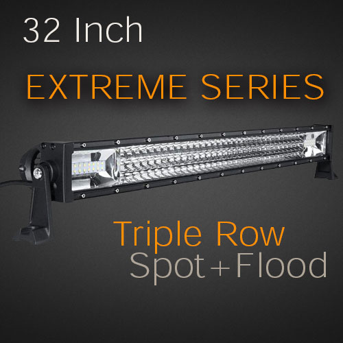 Led light bar extreme series 32 405w usa made cree leds with 32 405w extreme series side mount mozeypictures Images