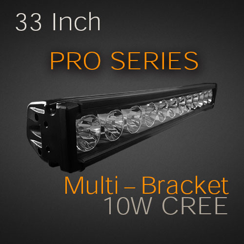 Led light bar professional grade 33 180w usa made cree leds 33 inch 180 watt pro series mozeypictures Images